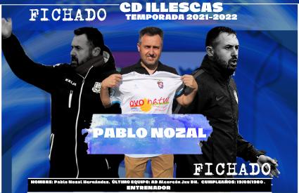 Pablo Nozal, nuevo entrenador del Illescas para la temporada 2021-2022.